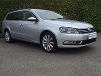 2013 VOLKSWAGEN PASSAT 2.0 HIGHLINE TDI BLUEMOTION TECHNOLOGY ESTATE 5d 140 BHP £10950.00