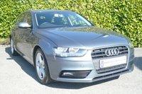 2013 AUDI A4 2.0 AVANT TDI SE TECHNIK 5d 140 BHP Estate £13450.00