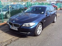 2011 BMW 5 SERIES 2.0 520D SE TOURING 5d 181BHP £9290.00