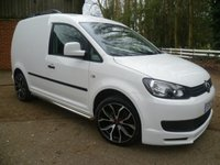 2013 VOLKSWAGEN CADDY 1.6TDI C20 Panel Van £8000.00