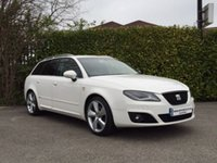 2013 SEAT EXEO 2.0 CR TDI SPORT TECH ESTATE  5d 170 BHP £10999.00