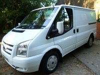 2012 FORD TRANSIT 280 Lr 1 OWNER FULL HISTORY 100 BHP 6 SPEED 2.2 £8495.00