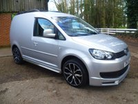 2012 VOLKSWAGEN CADDY 1.6TDI C20 Panel Van £8995.00