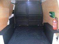 USED 2013 13 VOLKSWAGEN CADDY 1.6TDI C20+ Panel Van SAT NAV DVD 17 INCH ALLOYS
