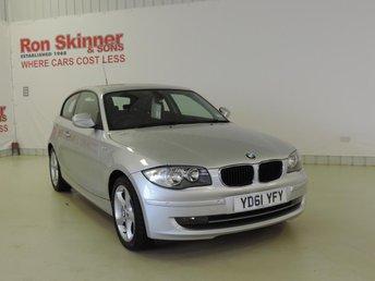 2011 BMW 1 SERIES 2.0 118D SPORT 3d 141 BHP £9699.00