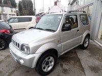 2005 SUZUKI JIMNY 1.3 JLX 3d 83 BHP £4995.00
