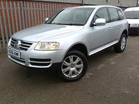 2006 VOLKSWAGEN TOUAREG 2.5 TDI SE AUTO 175 BHP £6995.00