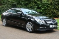 2012 MERCEDES-BENZ E CLASS 2.1 E220 CDI BLUEEFFICIENCY SPORT 2d AUTO 170 BHP £12195.00