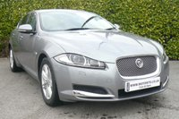 2013 JAGUAR XF 2.2 D LUXURY 4d AUTO 165 BHP £17999.00