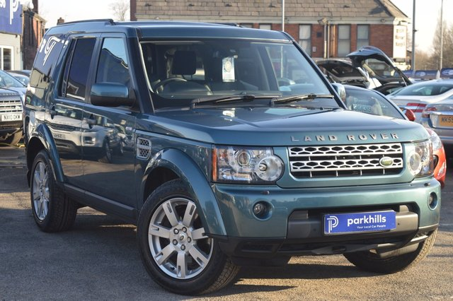 2010 LAND ROVER DISCOVERY 3.0 4 TDV6 XS 5d AUTO 245 BHP £19250.00