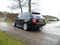USED 2008 08 LAND ROVER RANGE ROVER SPORT 2.7 TDV6 SPORT HSE 5d AUTO 188 BHP FANTASTIC CONDITION. TIMING BELT REPLACED. FRIDGE. HARMON KARDON