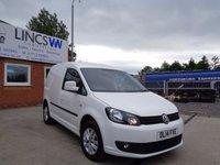 2014 VOLKSWAGEN CADDY C20 1.6 TDI HIGHLINE VAN 102 BHP White Manual Diesel £8995.00