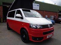 2013 VOLKSWAGEN CAMPER VAN 2013 62 plate Volkswagen Transporter Camper Van 102 SWB 2.0 TDI £SOLD
