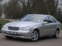 2003 MERCEDES-BENZ C CLASS 3.2 C320 AVANTGARDE SE 4d AUTO 218 BHP £2975.00