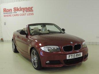 2013 BMW 1 SERIES 2.0 118D SPORT PLUS EDITION 2d 141 BHP £15699.00
