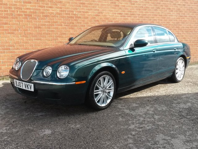 2007 07 JAGUAR S-TYPE 2.7 V6 SE 4d AUTO 206 BHP SAT NAV, FULL LEATHER