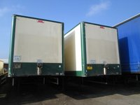 USED 2007 07 SDC TRI AXLE SDC TRI AXLE BOX TRAILER WITH SLIDE OUT TAIL LIFT