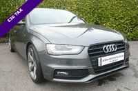 2013 AUDI A4 2.0 TDI S LINE BLACK EDITION START/STOP 4d 177 BHP £15950.00