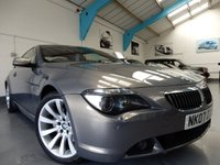 2007 BMW 6 SERIES 4.8 650I SPORT 2d AUTO 363 BHP £SOLD