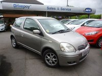 USED 2005 05 TOYOTA YARIS 1.3 COLOUR COLLECTION VVT-I 3d 86 BHP NEED FINANCE? WE STRIVE FOR 90% APPROVALS