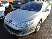 USED 2006 55 PEUGEOT 407 2.7 COUPE GT HDI 2d 202 BHP GREAT SPEC