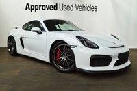 2015 PORSCHE CAYMAN 3.8 GT4 2d 380 BHP £94950.00
