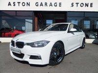 2013 BMW 3 SERIES 2.0 320D M SPORT 4d AUTO 181 BHP *SAT NAV* £18450.00