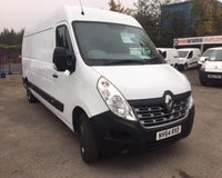 USED 2014 64 RENAULT MASTER 2.3 LM35 BUSINESS DCI S/R P/V 5d 125 BHP EXCELLENT CONDITION