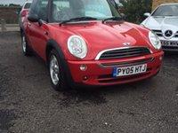 2005 MINI HATCH ONE 1.6 ONE 3d 89 BHP £2795.00