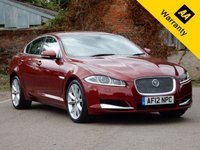 USED 2012 12 JAGUAR XF 2.2 D LUXURY 4d AUTO 190 BHP LOW RATE FINANCE AVAILABLE