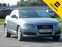 USED 2008 58 AUDI A3 1.9 TDI 2d 103 BHP- FINANCE SPECIALISTS, 0% FINANCE AVAILABLE