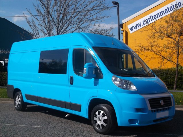 2011 11 FIAT DUCATO 35 L3 H2 Lwb Medium Roof van [ 65K ] Ex Lease Free UK Delivery IDEAL FOR CONVERSION