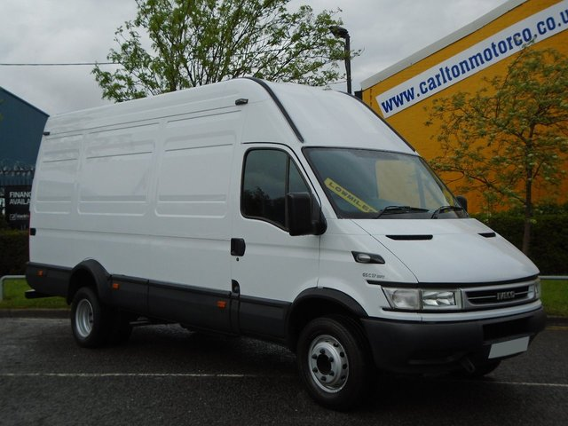 1970 06 IVECO-FORD DAILY 65c17 Lwb High Roof [ Jumbo ] Low Miles Ex MOD Free UK Delivery