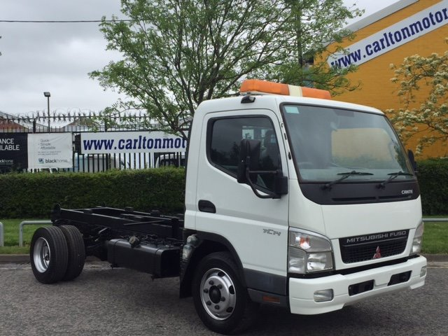 2006 56 MITSUBISHI CANTER 75c14 Chassis Cab [ Low Mileage 37K ] Free UK Delivery