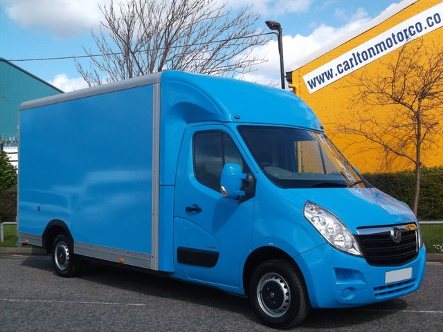 2011 61 VAUXHALL MOVANO 2.3 CDTI Low Loader Luton Box Van Ex Lease co Free UK Delivery