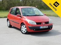 USED 2006 55 RENAULT SCENIC 1.9 EXPRESSION DCI 5d 130 BHP,  FINANCE SPECIALISTS, 0% FINANCE AVAILABLE