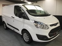 2016 FORD TRANSIT CUSTOM TREND 125 Bhp with A/C £15850.00