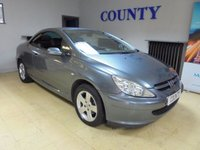 USED 2005 05 PEUGEOT 307 1.6 COUPE CABRIOLET 2d 108 BHP * TWO OWNERS * LOW MILES *