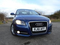 USED 2012 61 AUDI A3 1.6 TDI SE 5d 103 BHP     ** DIESEL ,1 OWNER FROM NEW , £20 ROAD TAX, **