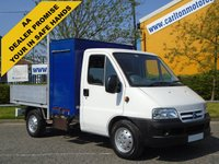 USED 2006 06 CITROEN RELAY 2.2HdI Mwb Dropside/Swing Lift Tool Box Delivery T.B.A