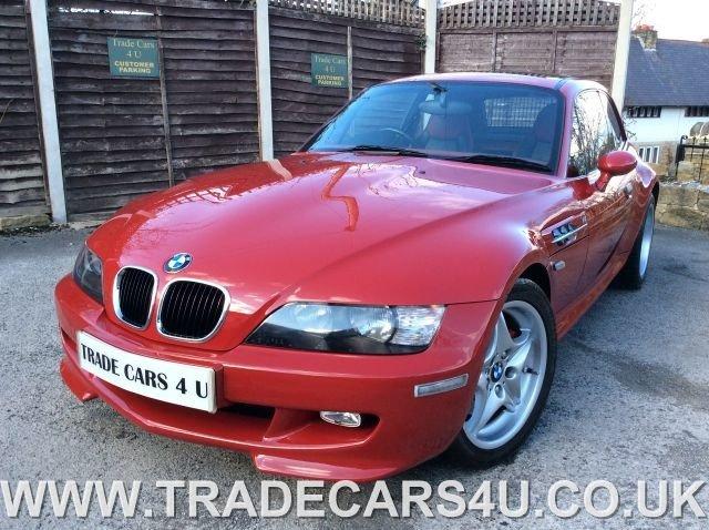1999 T BMW Z SERIES Z3M SPORT COUPE