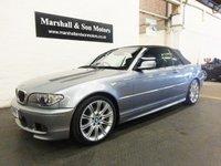 2006 BMW 3 SERIES 2.2 320CI M SPORT EDITION 2d AUTO 168 BHP £7199.00