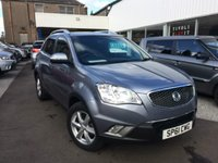 2012 SSANGYONG KORANDO 2.0 EX 5d 175 BHP £9995.00
