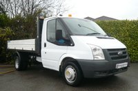 2010 FORD TRANSIT 2.4 350S MWB ONE STOP DROPSIDE TIPPER £9950.00