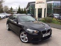 2012 BMW 1 SERIES 2.0 118D M SPORT 3d 141 BHP £11995.00