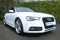 2013 AUDI A5 2.0 TDI S LINE SPECIAL EDITION CABRIOLET 2d 175 BHP £20950.00