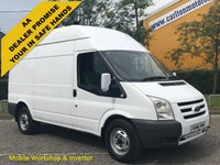 USED 2010 60 FORD TRANSIT 115 T350m High roof [ Mobile Workshop / Invertor ] Van Rwd Free UK Delivery