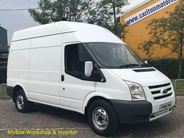 2010 60 FORD TRANSIT 115 T350 MWB Hi/R [ Mobile Workshop / Invertor ] Van Rwd Free UK Delivery