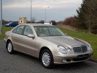 2004 MERCEDES-BENZ E CLASS 3.2 E320 CDI ELEGANCE 4d AUTO 204 BHP £5990.00