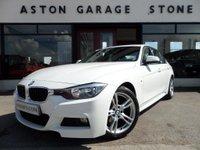 2013 BMW 3 SERIES 2.0 320D M SPORT 4d AUTO ** SAT NAV ** £17425.00